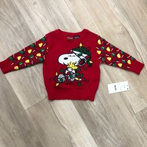 Snoopy and Peanuts Holiday sweater